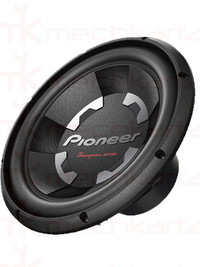 Pioneer TS-W120D4 12 inch Dual Voice Coil 1400W Subwoofer