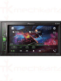 Pioneer MVH-A219BT 6.2 inch Double Din Touchscreen Bluetooth with Mirrorlink Car Stereo
