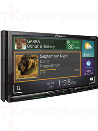 Pioneer AVH-A5190BT 7 Inch Double Din Touchscreen Bluetooth With App Radio Mode Navigation
