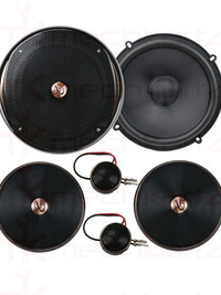 "Infinity Kappa 60CSX 6.2"" Component Speaker with gap Switchable crossover"