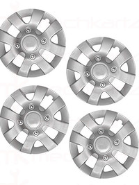 Prigan chrome wheel cap in 15 inch Press fitting