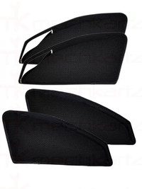 Mitsubishi Pajero Sport Zipper Black Sunshade/Curtain