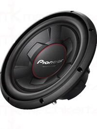 "Pioneer TS-W306R 12"" Full size Sub-woofer with 350Wrms"