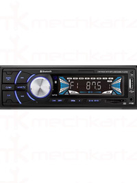 Nippon NMM 300 Single Din FM USB MP3 Player with Bluetooth