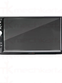 Nippon NDVM-1010BT Double Din Touch Screen Player with Bluetooth and Mirrorlink