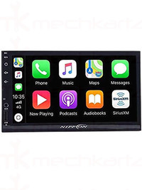 Nippon NDML-3010BTR Double Din Touch Screen Player with Bluetooth and Mirrorlink