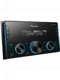 Pioneer MVH-S329BT Double Din Stereo with Bass Boost Control