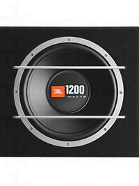 JBL CS Series CS1200BSI 12'' Enclosure Indian Models