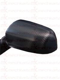 Toyota Innova Crysta Side Mirror Cover Carbon Fiber Type
