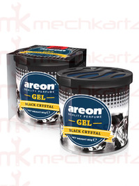 Areon Gel Black Crystal Car Air Perfume Air Freshener