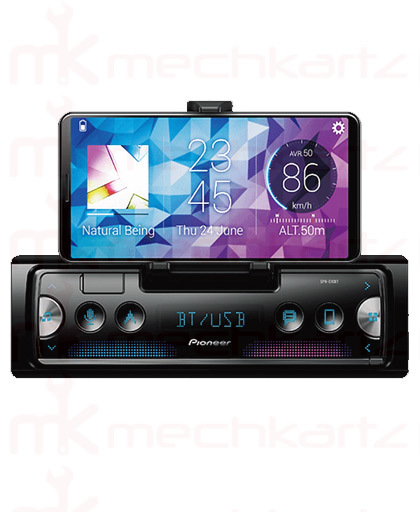 Pioneer SPH-C19BT Single Din FM USB Player With Bluetooth Cradle Model